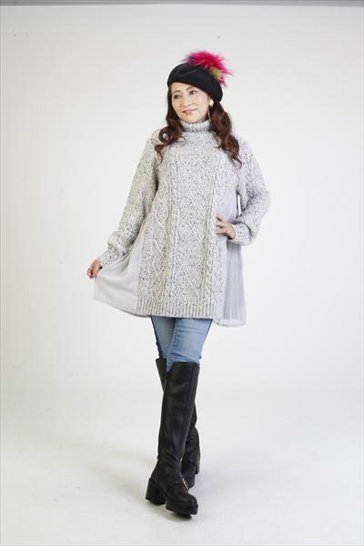 マダムミーナ ざっくりニットセーター